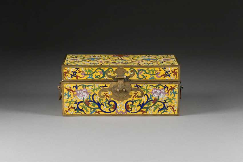 EMAIL-CLOISONNE-SCHATULLE - photo 1