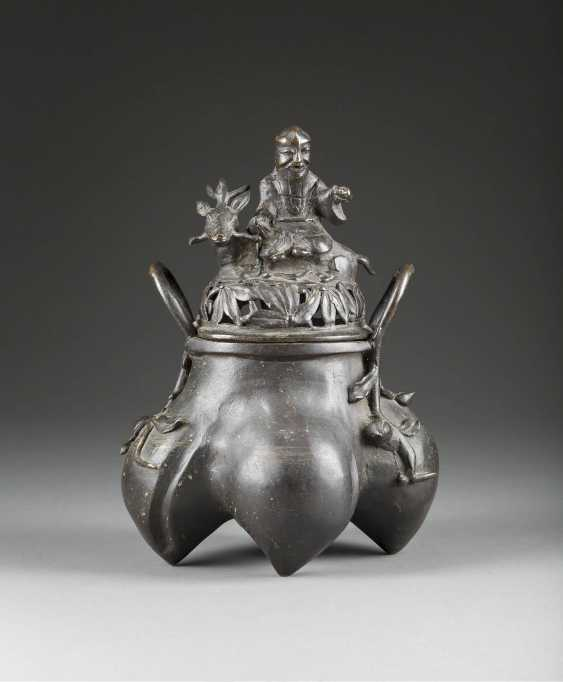 INCENSE BURNER IN MING-STYLE - photo 1