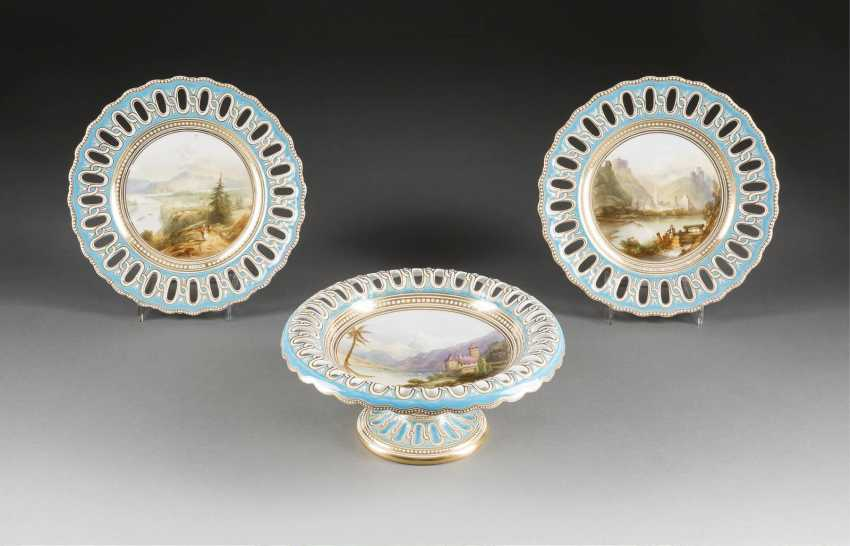 TWO PLATES AND TOP SHELL WITH VIEWS - photo 1