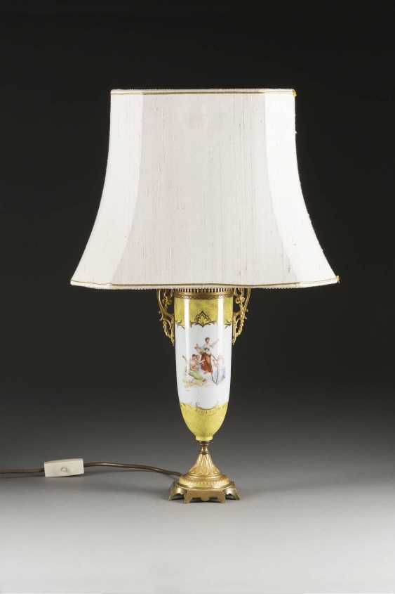 LAMP WITH ALLEGORICAL REPRESENTATIONS - photo 2