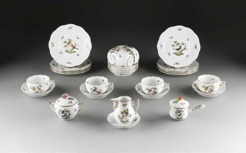 19-PIECE coffee service 'ROTHSCHILD' Hungary, Herend, 20. Century - photo 1