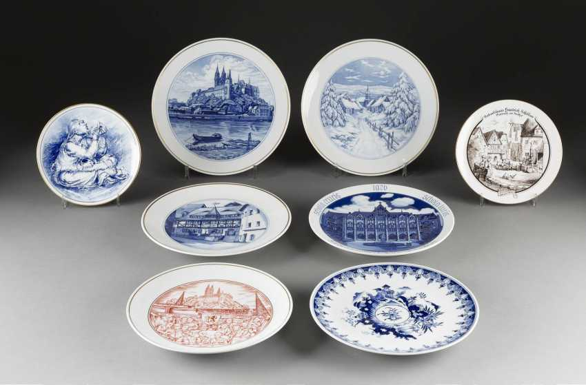 16-PIECE COLLECTION of MEISSEN, German, Meissen, 20. Century and earlier - photo 1