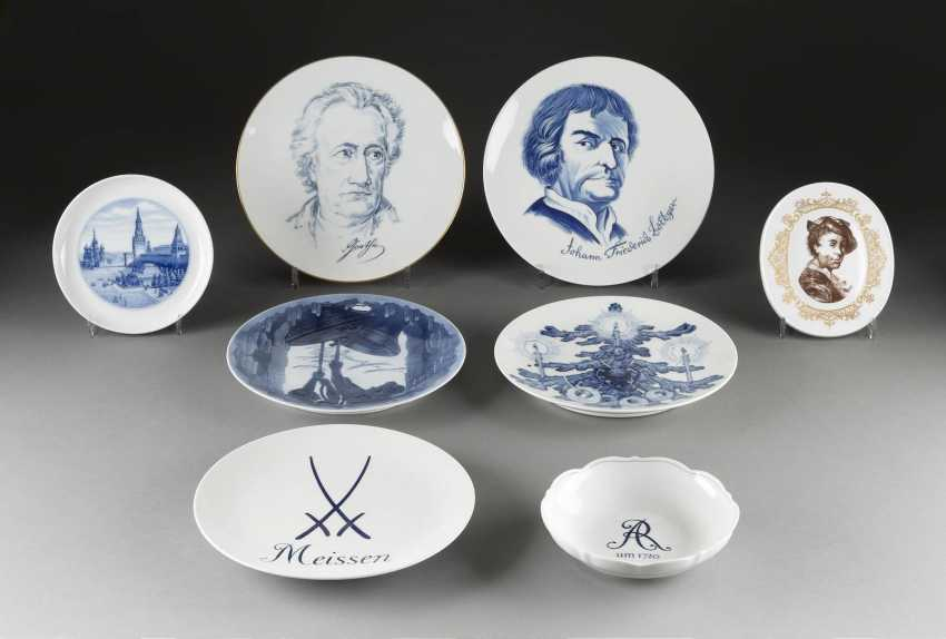 16-PIECE COLLECTION of MEISSEN, German, Meissen, 20. Century and earlier - photo 2