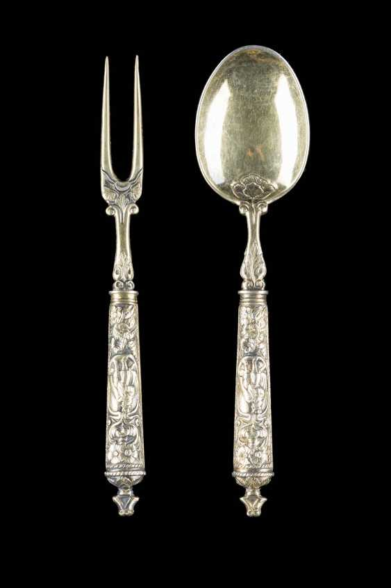 TWO-PIECE BAROQUE CUTLERY - photo 1