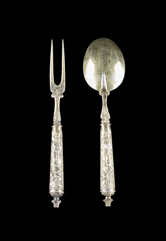 TWO-PIECE BAROQUE CUTLERY - photo 2