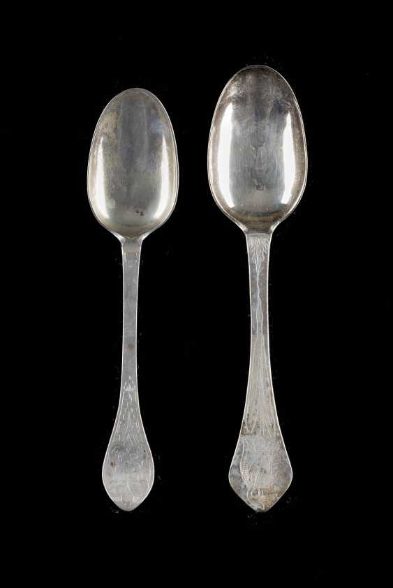 TWO BAROQUE SPOON - photo 1