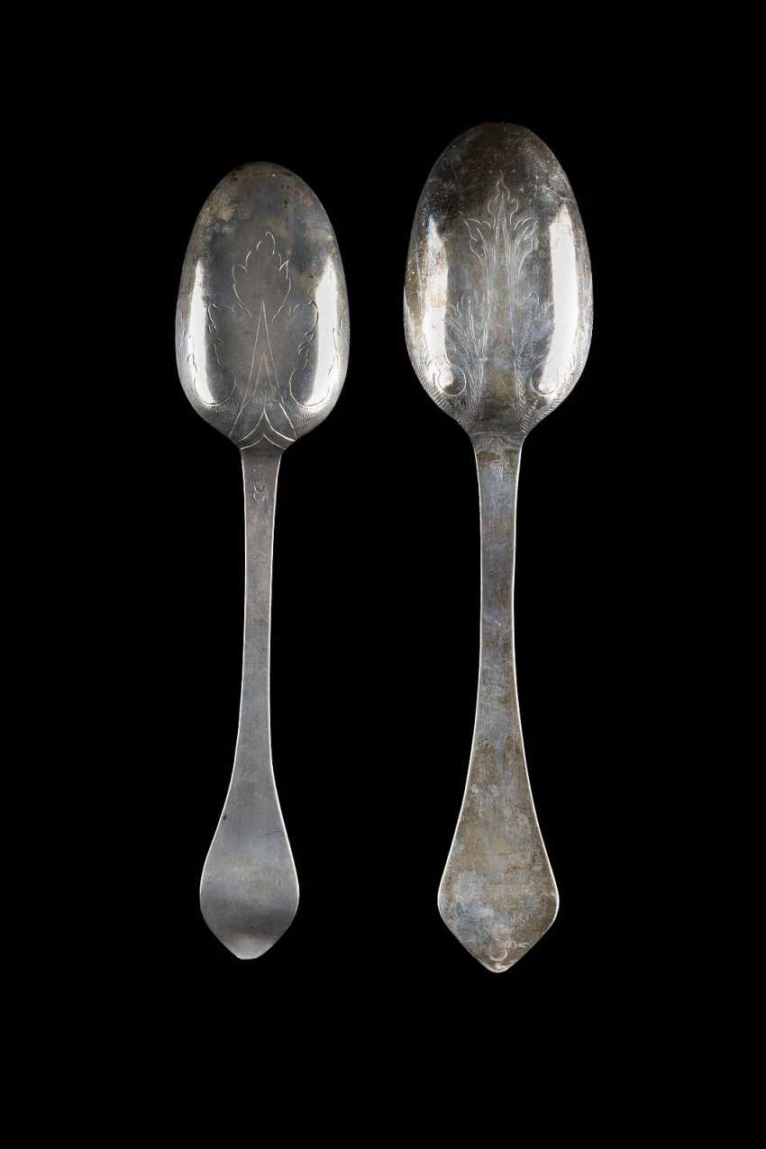 TWO BAROQUE SPOON - photo 2