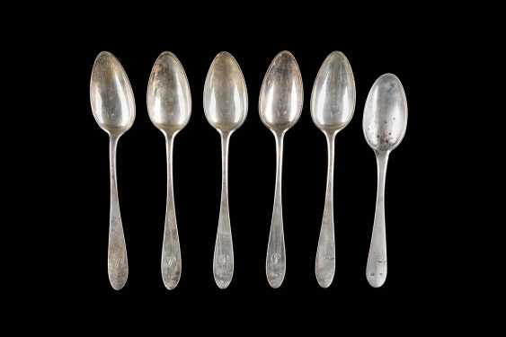 SIX VIENNESE SPOON - photo 1