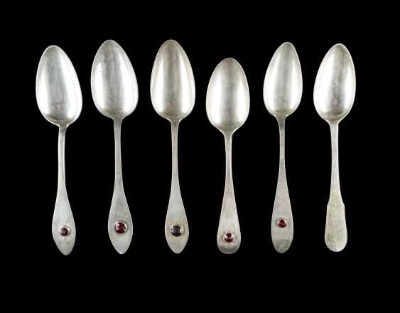 SIX NORTH GERMAN SPOON - photo 1