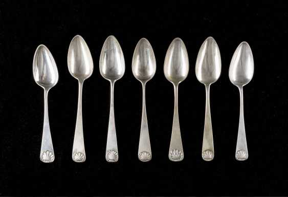 SEVEN NORTHERN GERMAN SPOONS - photo 1
