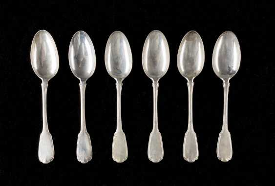 COLLECTION OF SIX NORTH-GERMAN SPOONS - photo 1