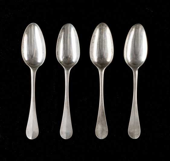 FOUR NORTH GERMAN DINING SPOON - photo 1