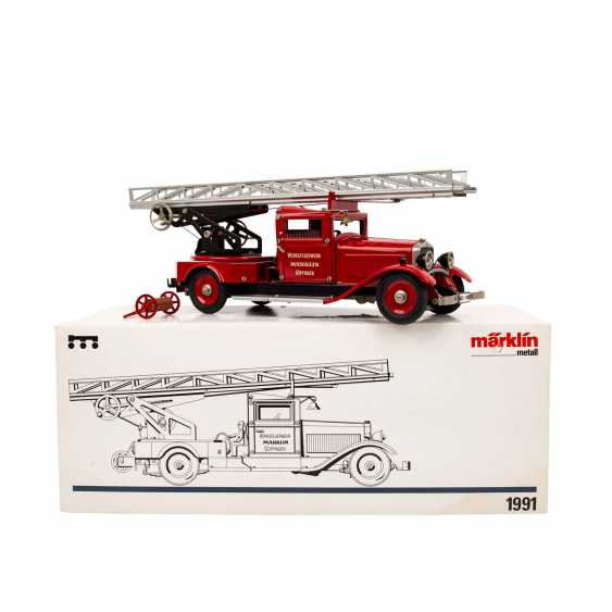 MÄRKLIN fire engine 1991, - photo 1