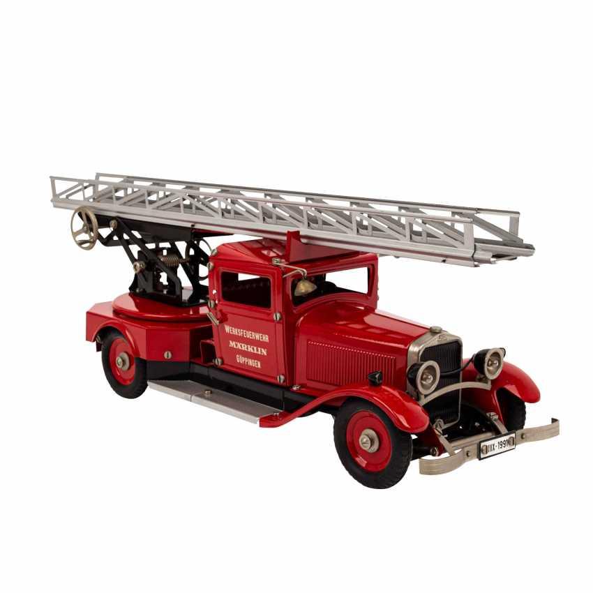 MÄRKLIN fire engine 1991, - photo 2