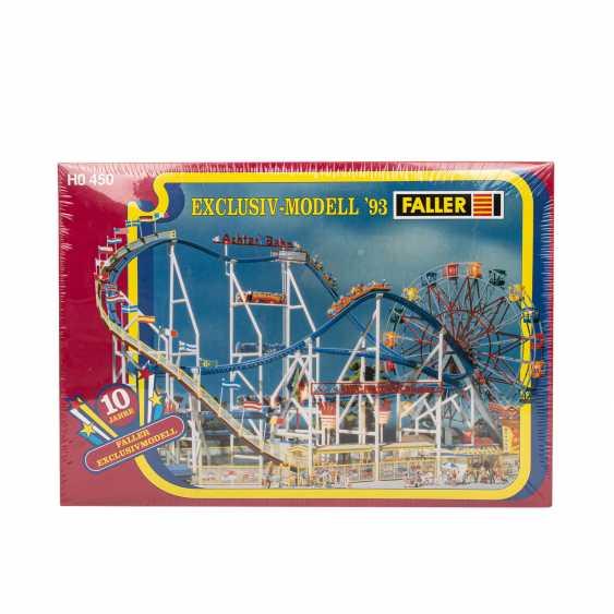 "FALLER ""H0 450"" kit for a roller coaster, 1993 - photo 1"