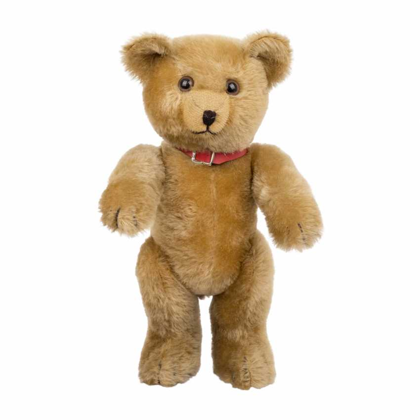 SCHUCO plush bear with musical mechanism, - photo 1