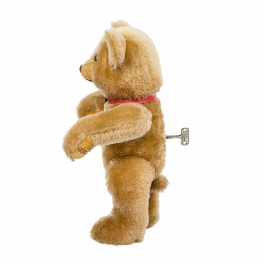 SCHUCO plush bear with musical mechanism, - photo 2