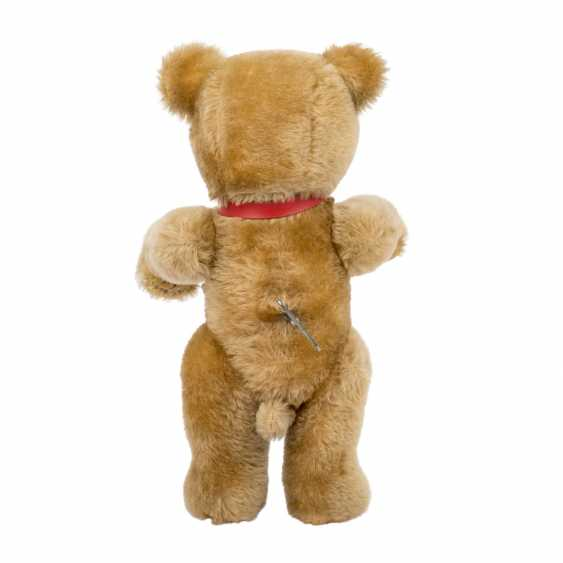 SCHUCO plush bear with musical mechanism, - photo 3