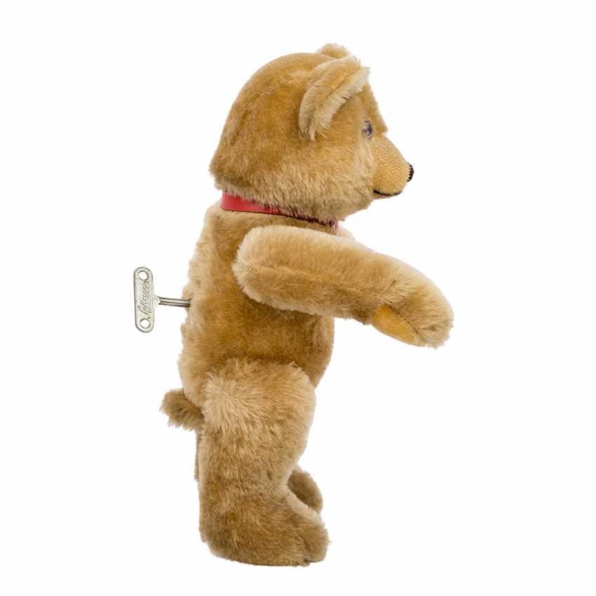 SCHUCO plush bear with musical mechanism, - photo 4
