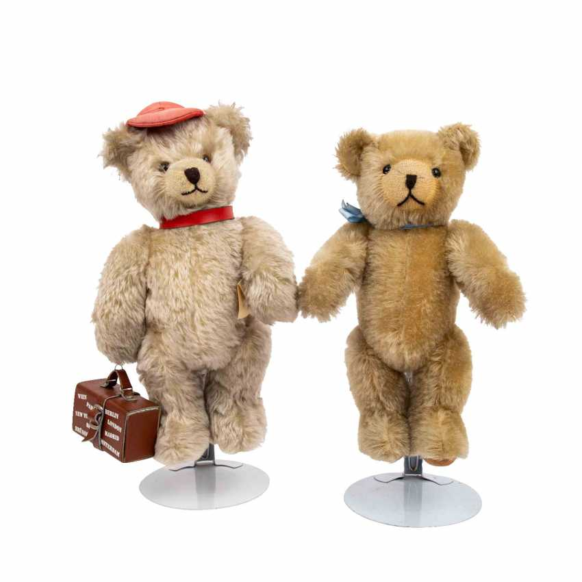 """SCHUCO pair of """"Tricky"""" bears, limited! - photo 1"""