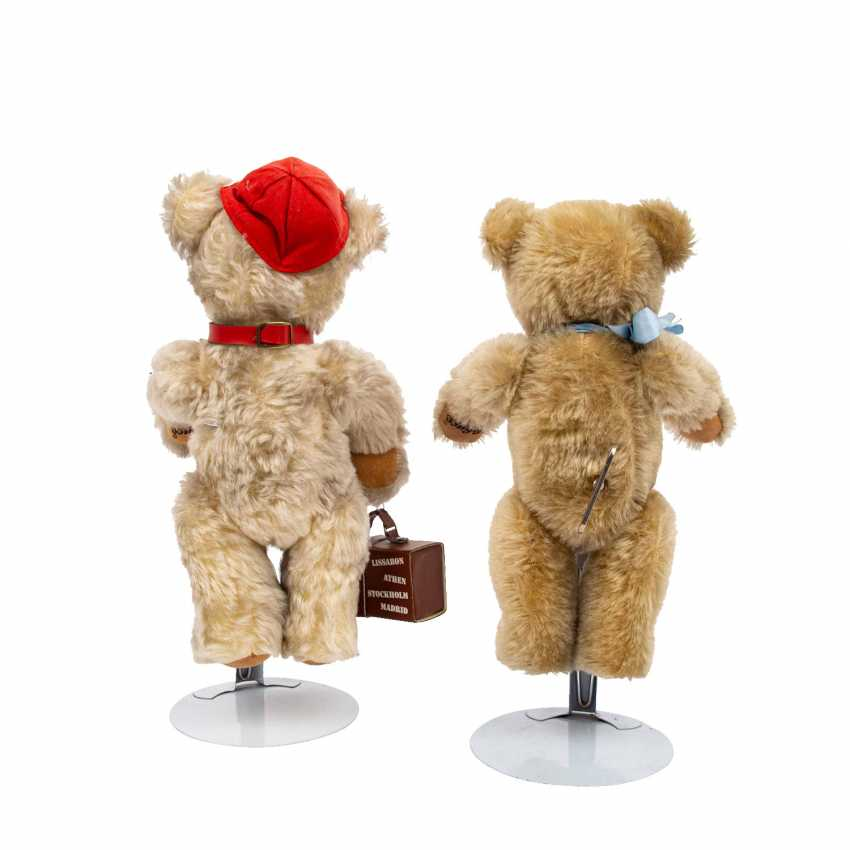 """SCHUCO pair of """"Tricky"""" bears, limited! - photo 2"""