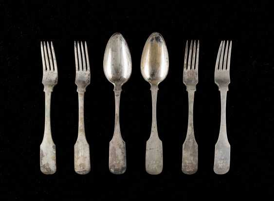FOUR FORKS AND TWO SPOONS - photo 1