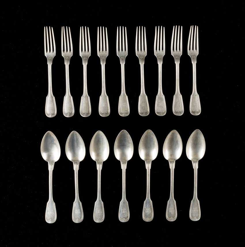 SEVEN SPOONS AND NINE FORKS - photo 1
