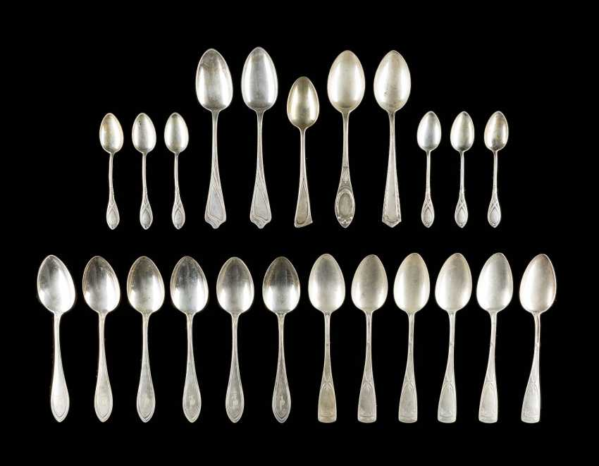23 ART-NOUVEAU DINING - AND-COFFEE-SPOON - photo 1