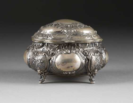 LARGE SUGAR BOWL IN THE ROCOCO STYLE - photo 1