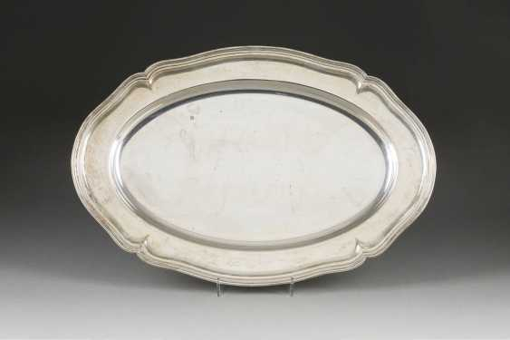LARGE SILVER PLATE - photo 1
