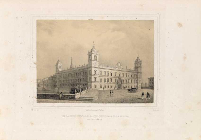 BOMBELLES, Charles-René de (1785-1856) - Monumenti e munificenze di Sua Maestà Maria Luigia. Parma: Tipografia di Paolo Roenouard, 1845.  - photo 1