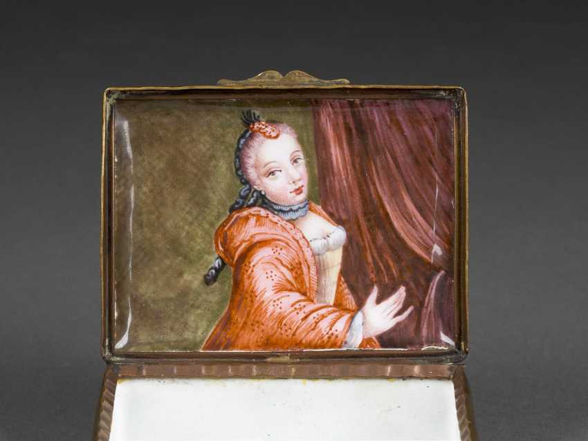 SNUFF-BOX MIT LIEBESPAAR - photo 2