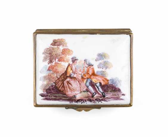 SNUFF-BOX MIT LIEBESPAAR - photo 3