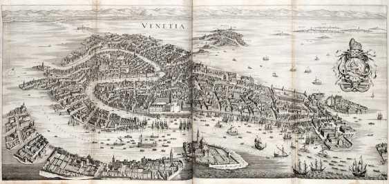 ZEILER, Martin (1589-1661) - Itinerarium Italiae nov-antiquae. Frankfurt: Mattheus Merian, 1640.  - photo 2
