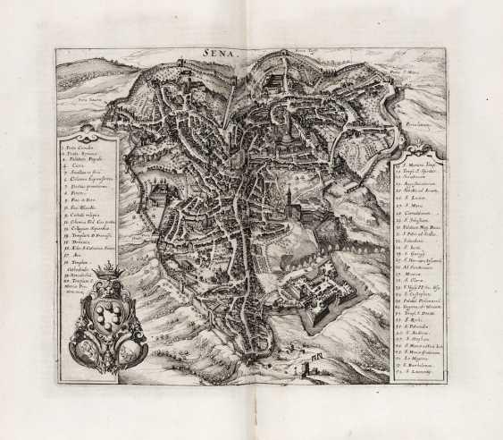 ZEILER, Martin (1589-1661) - Itinerarium Italiae nov-antiquae. Frankfurt: Mattheus Merian, 1640.  - photo 4