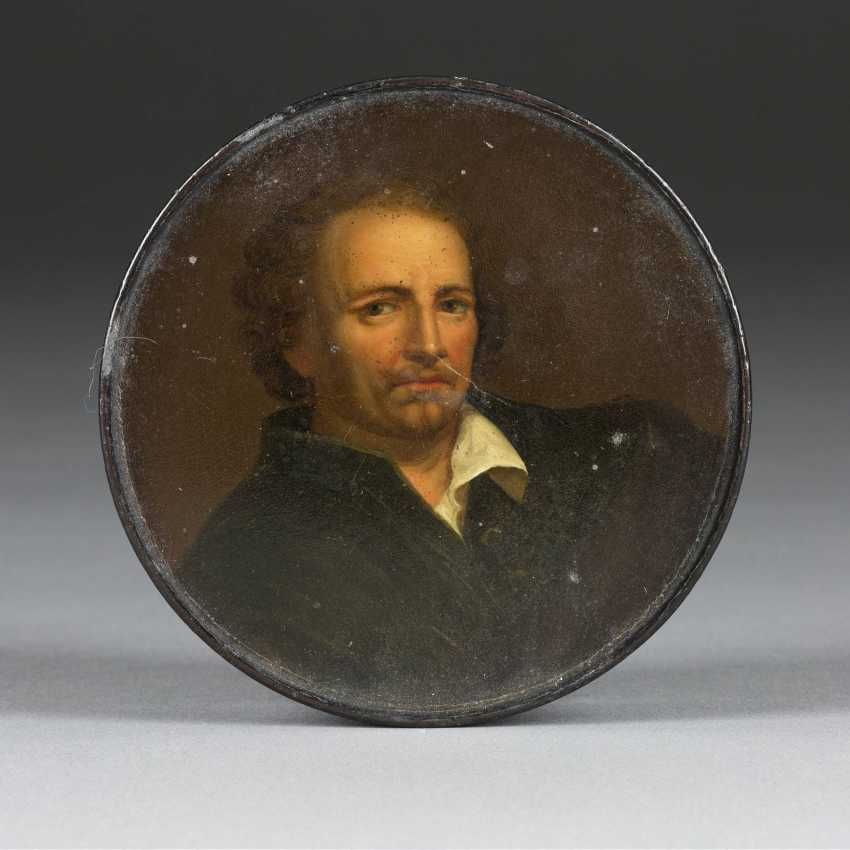 SNUFF BOX WITH MR PORTRAIT - photo 1