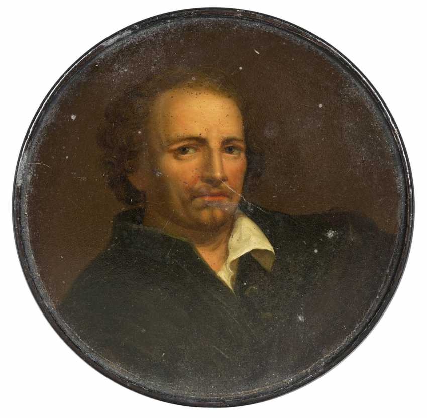 SNUFF BOX WITH MR PORTRAIT - photo 2