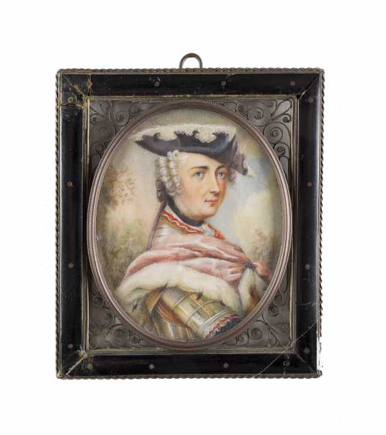 PORTRAIT MINIATURE OF FREDERICK THE GREAT - photo 1