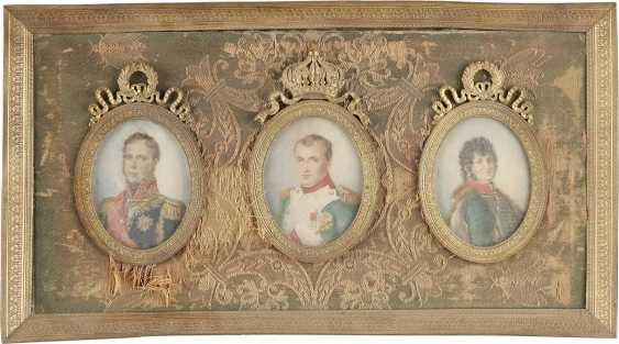 SIX MINIATURES WITH MEMBERS OF THE FRENCH ROYAL FAMILY AND RULERS - photo 1