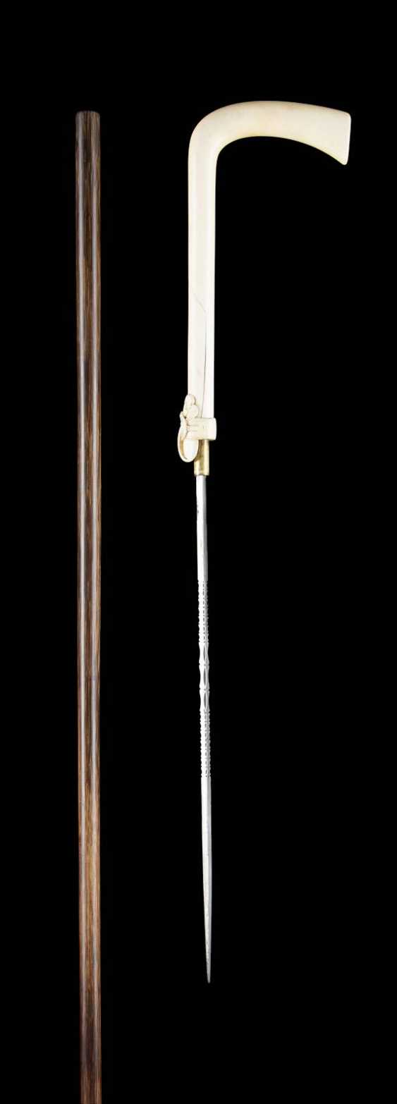 SYSTEM WALKING STICK WITH A BUILT-IN SWORD - photo 3