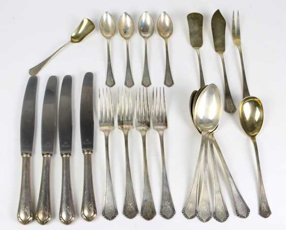 Table cutlery for 4 people, silver - photo 1