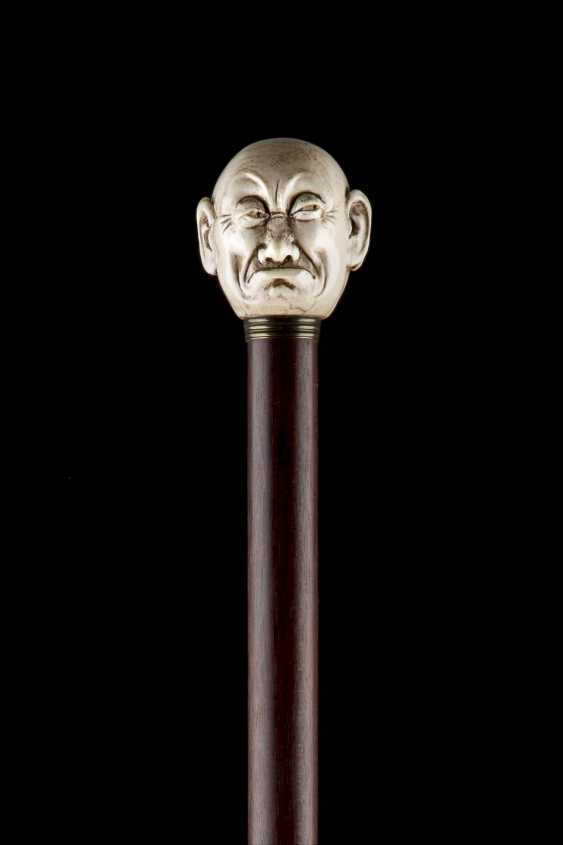 THE JANUS-HEADED ART-DECO-WALKING STICK - photo 3