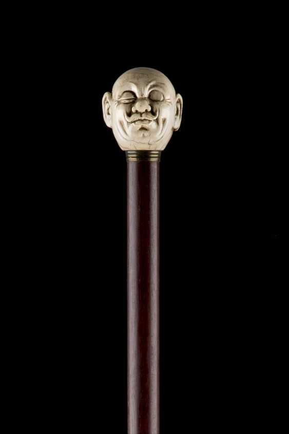 THE JANUS-HEADED ART-DECO-WALKING STICK - photo 4