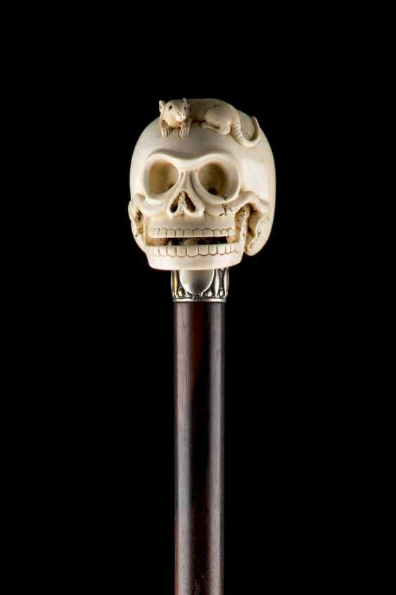 WALKING STICK WITH SKULL - photo 2