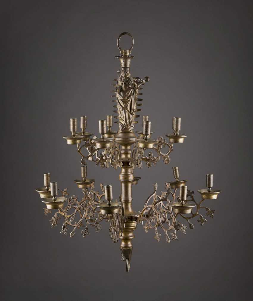 NEO-GOTHIC CEILING CHANDELIER - photo 1