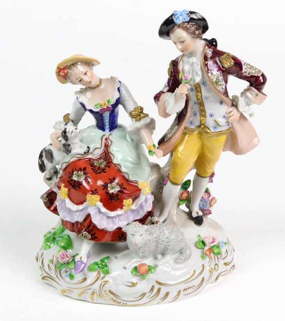 Baroque couple - photo 1