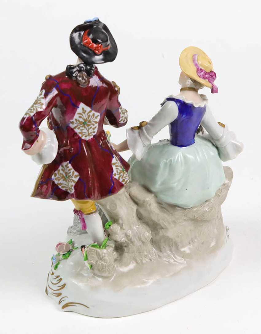 Baroque couple - photo 2
