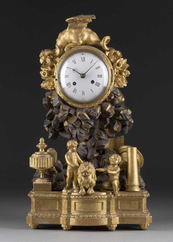 RARE Baroque pendule English. o. Swedish, 2. Half of 18. Century - photo 1