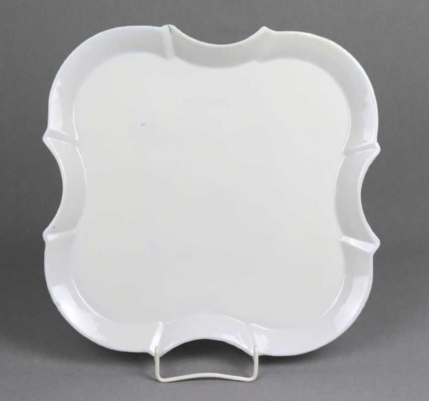 Serving plate Teichert Meissen - photo 1