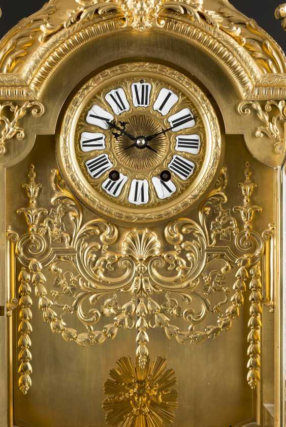 LOUIS-CONSTANT SÉVIN 1821 Versailles 1888 Neuilly-sur-Seine (draft) high-significant mantel clock, Paris, France, by Ferdinand Barbedienne, 2. Half of the 19th century. Century - photo 5